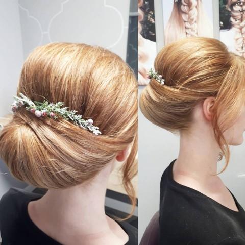 bridal up-do dynamic